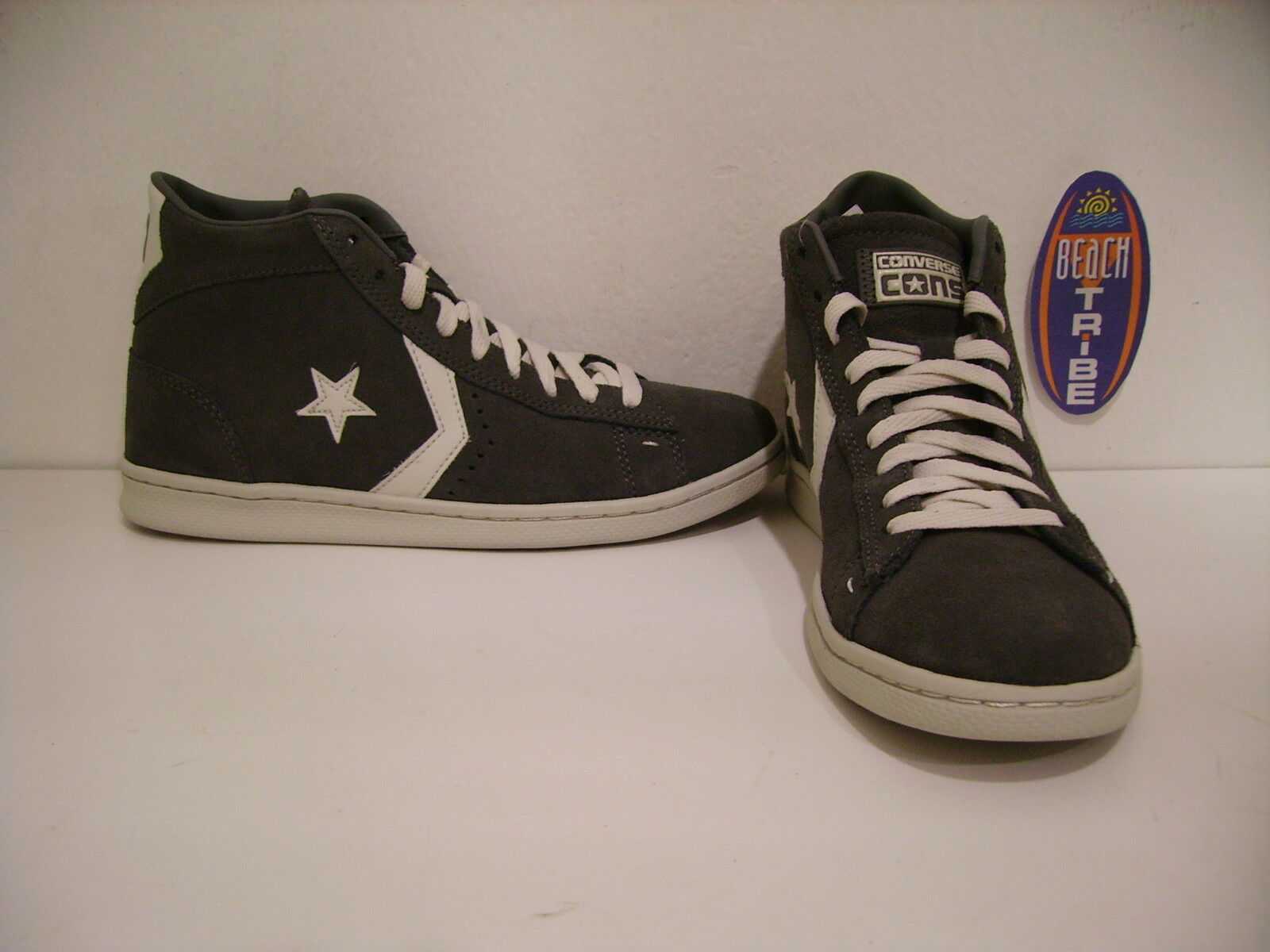 CONVERSE chaussures UNISEX SNICKERS ALTE 137714C PRO LEATHER LP CHARCOAL VAP GRIG 40