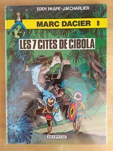 Marc-Dacier-par-Paape-amp-Charlier-tome-9-Les-7-cites-de-Cibola-Dupuis-1984