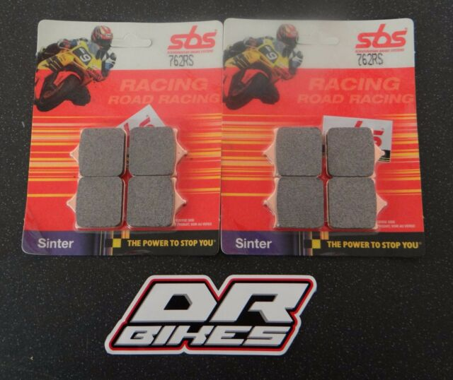 Aprilia RSV 1000 Mille R 2003 SBS Race Sintered Front Brake Pads 762RS