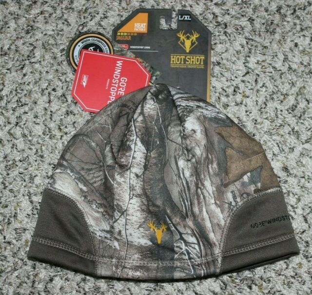M  real tree camo bomber insulated hat shot hot trapper hunter stocking cap gear