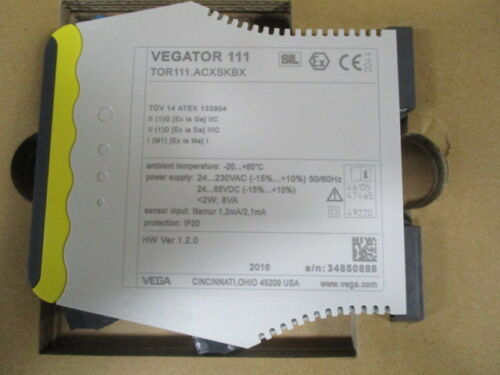 NEW VEGATOR 111.ACSXKBX MEASUREMENT SIGNAL CONDITIONER