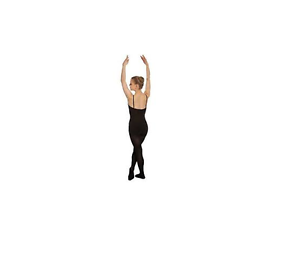 f29bd652e86a9 Image is loading Black-Capezio-ultra-soft-footed-ballet-bodystocking-1820-