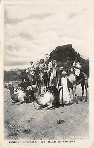 B58250 Libia tripolitania Africa Orientale Banda dei Kascialda