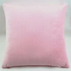 45cm-Square-Velvet-Cushion-Cover-Home-Decor-Waist-Throw-Pillow-Case-Pink