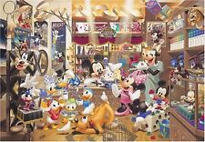 Disney 1000 Jigsaw Puzzle World's Smallest Magic Shop 29.7x42cm Mickey Minnie