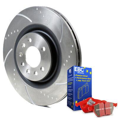 PEUGEOT 206 2.0 GTI BRAKE PADS EBC ULTIMAX FRONT /& REAR