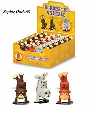Traditional Clockwork Wind Up Acrobatic Animal Pet Toy Christmas Stocking Filler