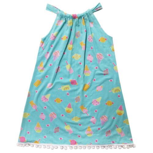 Esme Girl/'s Beachwear Halter Dress with Pom Pom XS S M L XL PT