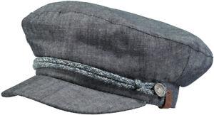 Barts-Beanie-Muetze-Ride-Cap-one-size-Einheitsgroesse-Blue-Blau-Segler-Cap-NEU