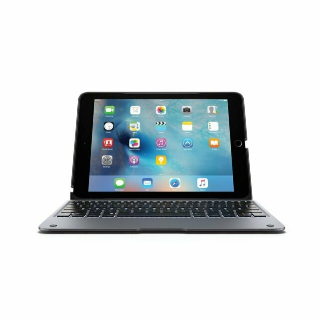 in stock f6edd a5fbb Incipio ClamCase Backlit Bluetooth Keyboard Case for iPad Pro 9.7 2016 Only  Gray