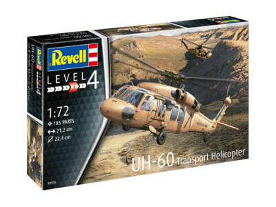 1:72 Revell RV04976 UH-60 Plastic Model kit