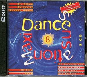 Maxi-Dance-Sensation-8-1992-Dr-Alban-Snap-2-Unlimited-Shabba-Rank-2-CD