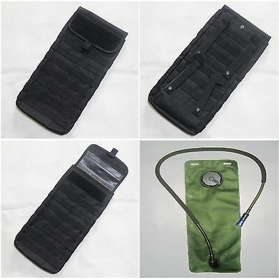 New Airsoft MBSS 3.0L Molle Hydration Carrier Pouch + Water Reservoir Bladder