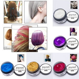 Unisex DIY Hair Color Wax Mud Dye Cream Temporary Modeling Salon Painting Art