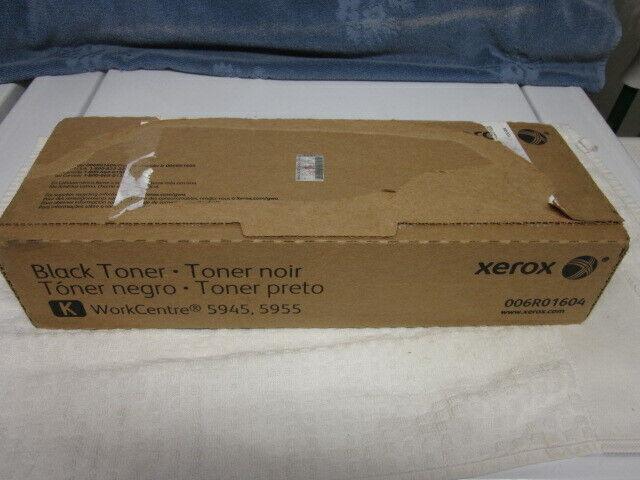 2 cartridges of Genuine OEM Xerox 006R01604  5945 5955 Black Toner NEW