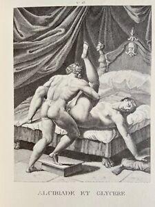 Agostino Carracci Erotico Pene atto vagina alkibiades antica mitologia Love