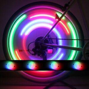 2x led speichenlicht speichenstrahler speichen reflektoren. Black Bedroom Furniture Sets. Home Design Ideas