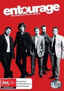 Entourage-Season-4-DVD-2008-3-Disc-Set-Boys-own-adventures-very-popula