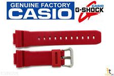 CASIO DW-6900MF-4 G-Shock Original 16mm Red (Glossy) Rubber Watch Band Strap