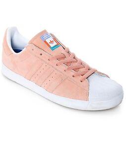 Factory Sale Adidas Superstar Vulc ADV in White Copper