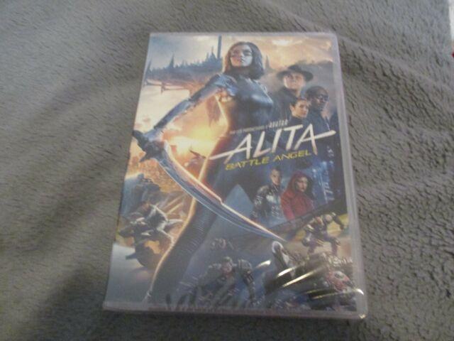 "DVD NEUF ""ALITA : BATTLE ANGEL"" Rosa SALAZAR, Christoph WALTZ / Robert RODRIGUEZ"