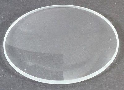Uhrenglas 1 mm 27,5 mm plan flach Uhrenersatzglas Ersatzglas  SGL784