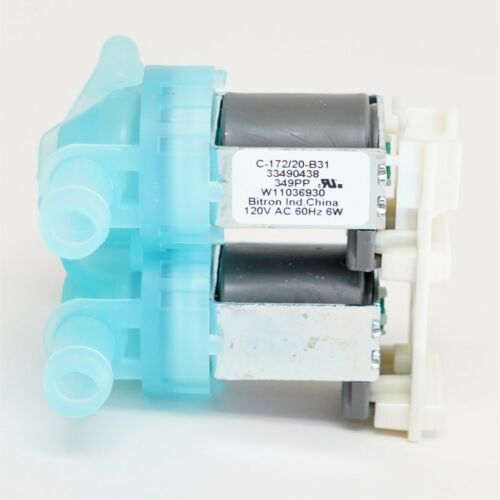 Choice Parts W11316256 for Whirlpool Washing Machine Water Inlet Solenoid Valve