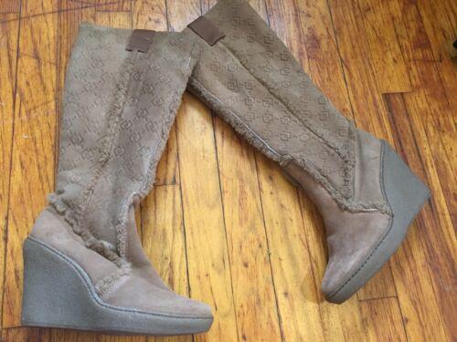 Winter Boots Steve Tan Suede Tall Schapenvacht 6 Madden Wedge Schapenlaarzen PkZiwOuXT
