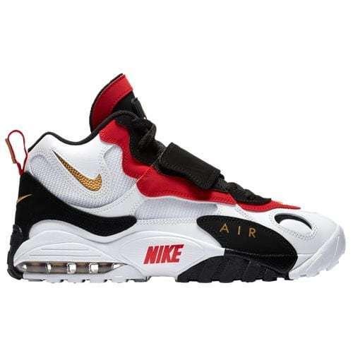 Nike air max velocità bianco / nero / rosso