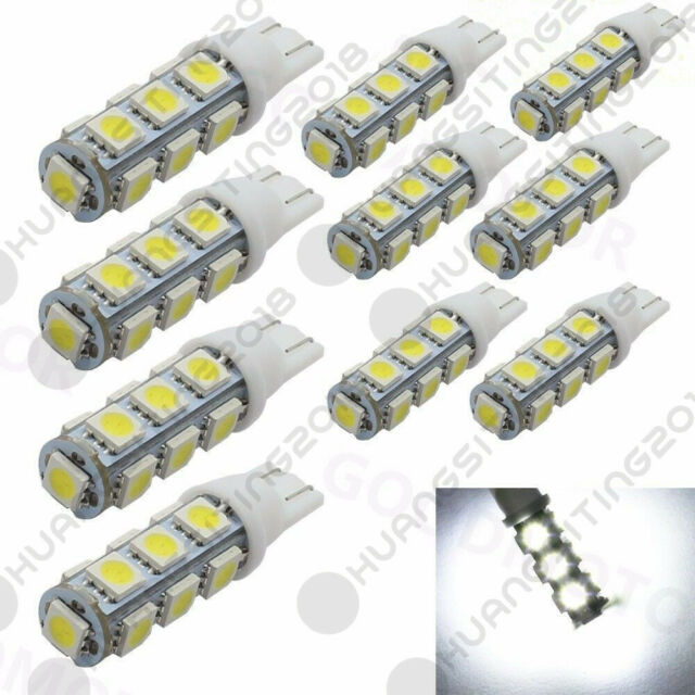6-PACK Best to Buy/® COOL WHITE Bulb T5 Wedge 1W 360Deg LEDs for Malibu 12V AC Landscape Best to Buy®