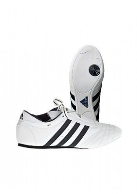 Adidas Taekwondo Schuhe, Adidas Champion Sm Ii, Weiß.dünn Und Rutschfest. Budo