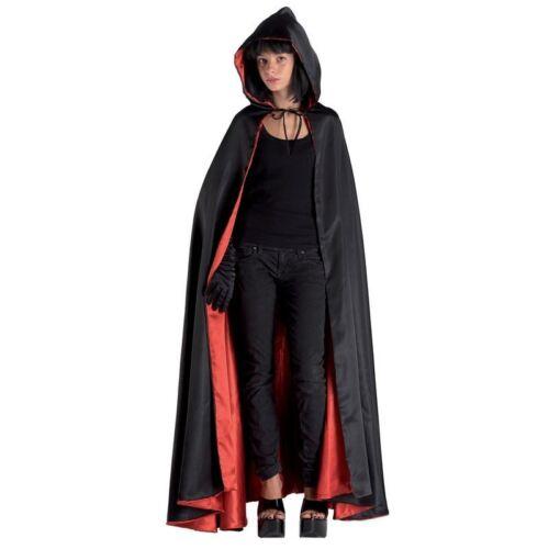 Disfraz Domino Capa Negra con Capucha