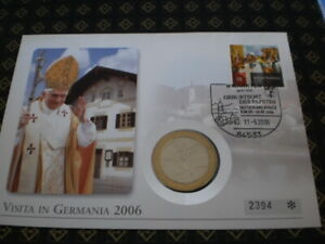 Medaillen Erstagsbrief 2006 - NRW, Deutschland - Medaillen Erstagsbrief 2006 - NRW, Deutschland