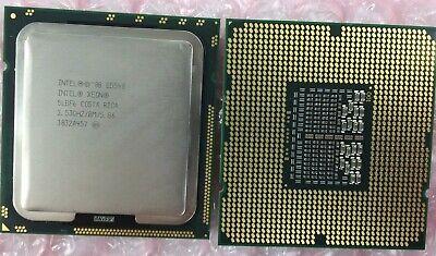 1 Matched Pair 2 CPUs Intel Quad Core Xeon CPU E5540 2.53GHZ//8M//5.86 SLBF6