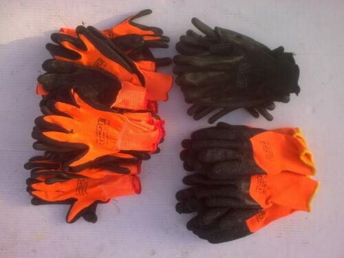 24 Pairs work gloves selection light medium /& heavy duty builders gardeners etc