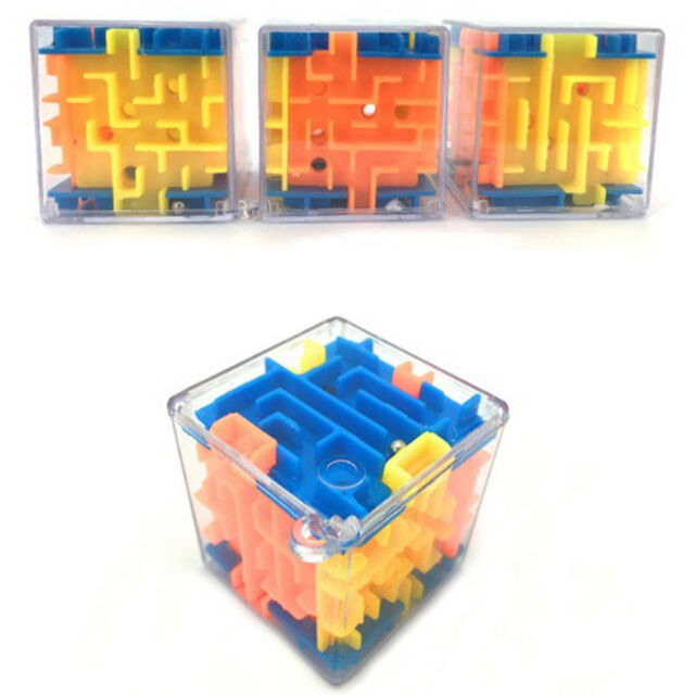 Magical 3d Maze Magic Cube Labyrinth Rolling Toys Fro Kid Children Puzzle Game
