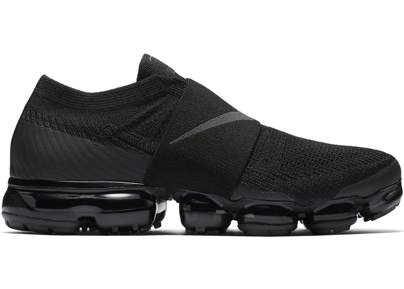Nike Air Vapormax Flyknit Moc Triple Black Size 6. AH3397-004 Max 1 90 95 97
