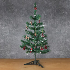 Details About Small Mini Table Top Christmas Tree Decoration Decor Home Xmas Artificial Green