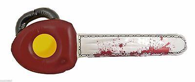 Gonfiabile Texas Chainsaw Grandi Spaventoso Halloween Decorazione Costume 71cm Uk-mostra Il Titolo Originale