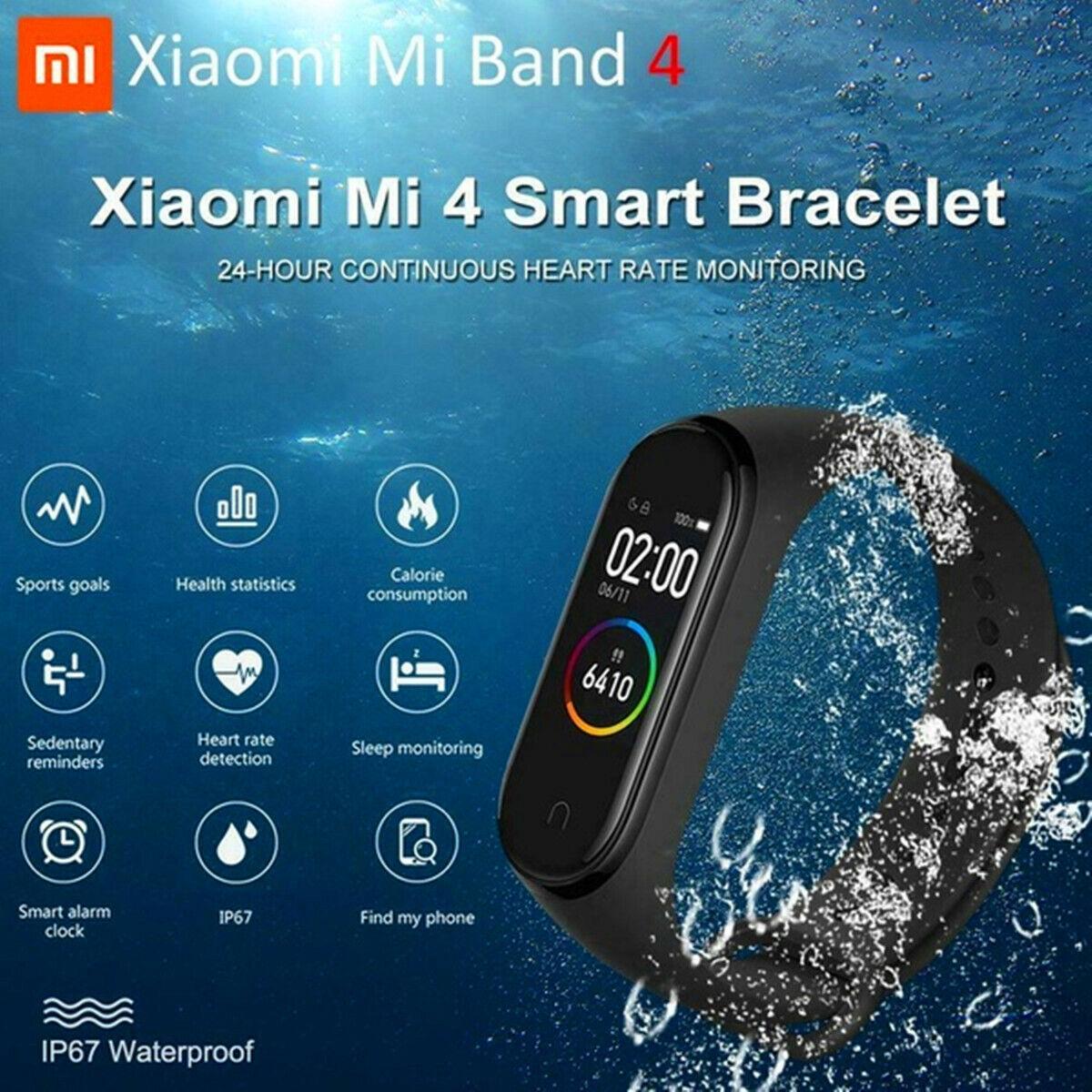 Xiaomi mi Band 4 Smart Braccialetto Cardiofrequenzimetro BT 5.0 Polsiera 2