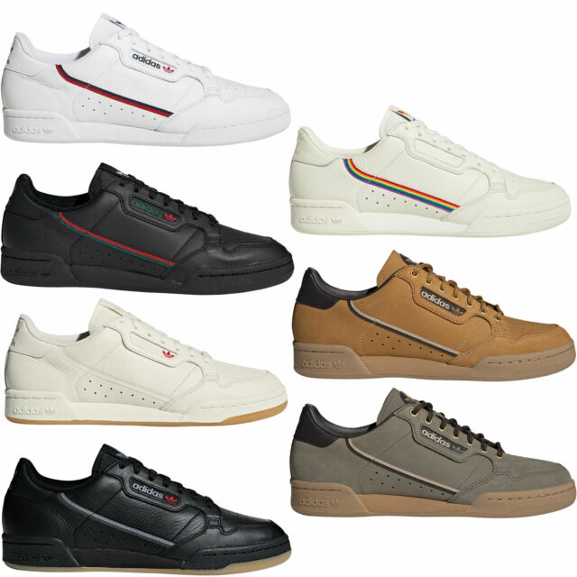 adidas Originals Continental 80 Herren Sneaker Turnschuhe Schuhe Freizeit Retro