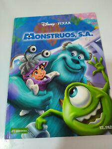 Monstruos-S-A-Disney-Pixar-48-pags-2010-Castellano-Comic-LIBRO