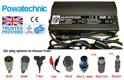 EPtech 24V 5A Battery Charger for Zipr Mobility Mantis Model HP8204B
