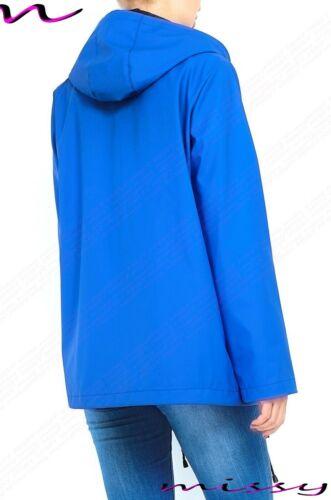 NEW WATERPROOF COAT Festival Rain Mac Ladies coat Womens Jacket Size 8-16