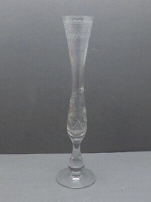 Joli Ancien Vase, Soliflore, Cristal Matige Prijs