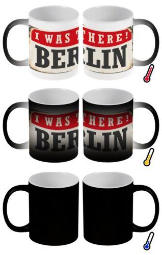 Zauber Magig Tasse Retro Metropole Berlin Deutschland