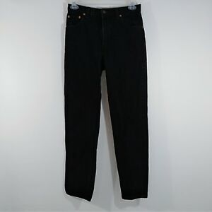 Levi S 550 Women S 11 High Rise Mom Jeans Usa Made Black 17550 0260