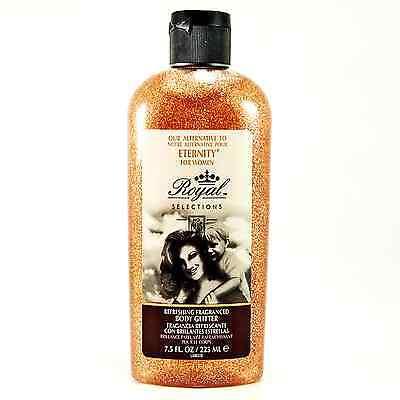 Body Glitter + Perfume 2-in-1 Gel w/Name Brand Imitation Scent - Peach _183-16O