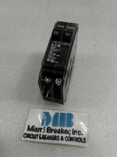 BD2030 CUTLER HAMMER CIRCUIT BREAKER PLUG-IN 20//30 AMP TWIN POLE NEW!!