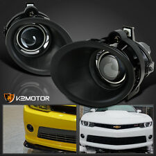 2014-2015 Chevy Camaro 3.6L V6 Clear Projector Bumper Driving Fog Lights